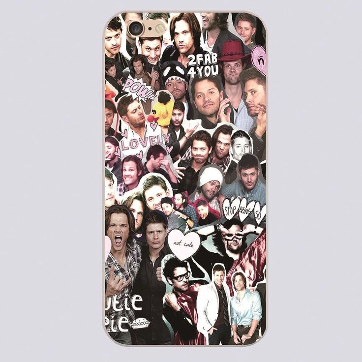 Supernatural Collage Phone Case for iPhone