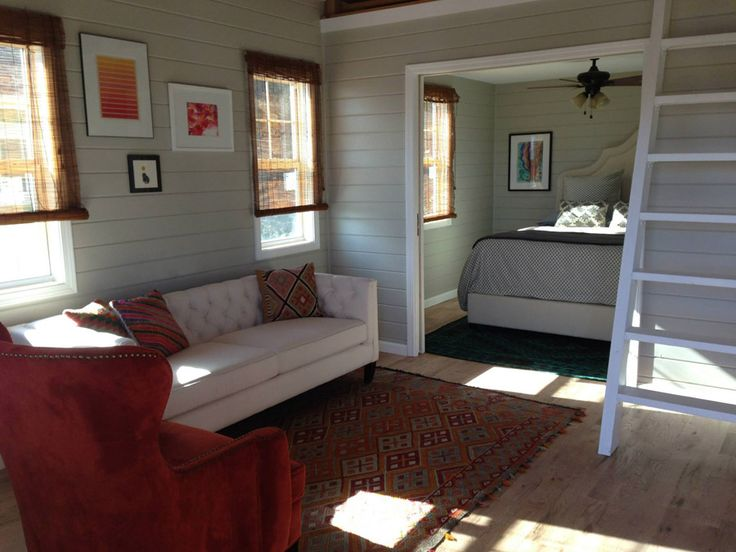 Best 25 tiny house swoon ideas on pinterest for Tiny house with main floor bedroom