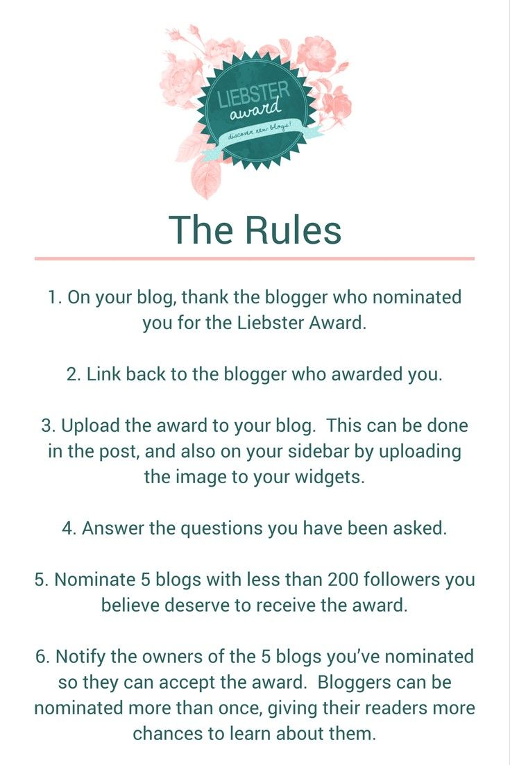 I have been nominated and accepted the liebster blogging award. Check out my blog http://www.findingtimeinthechaos.com.au
