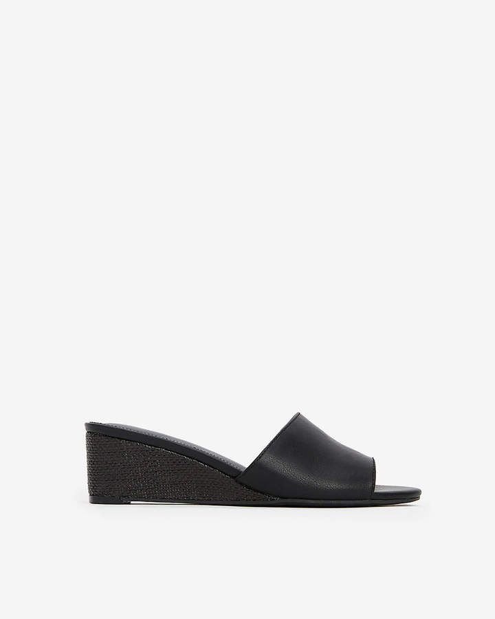 167286d24ca62 ShopStyle Collective Wedge Sandals, Open Toe, Heeled Mules, Wedge Flip  Flops, Open