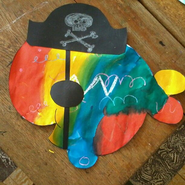 piratenvis met wasco en ecoline