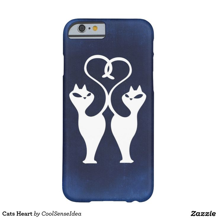 Cats Heart Barely There iPhone 6 Case