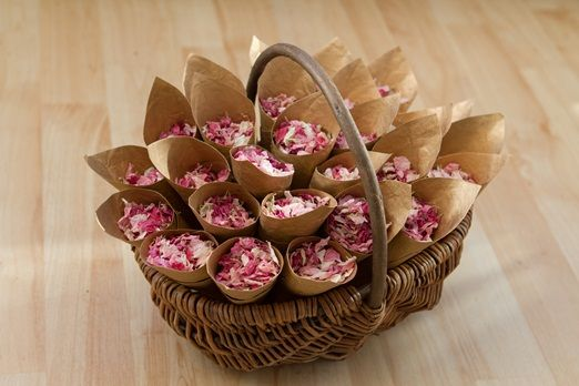 Vintage inspired petal confetti mixes on special offer from Bespoke Confetti