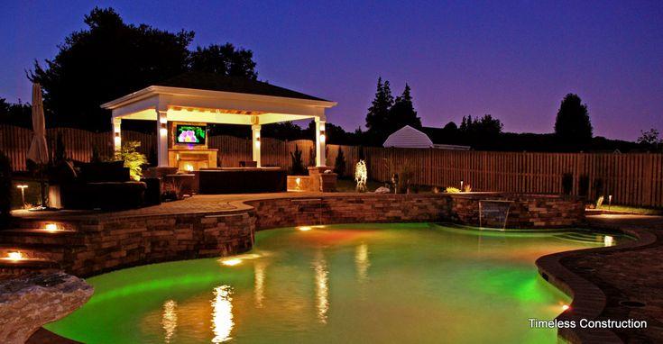 Extreme Backyard Pools Model Enchanting Decorating Design
