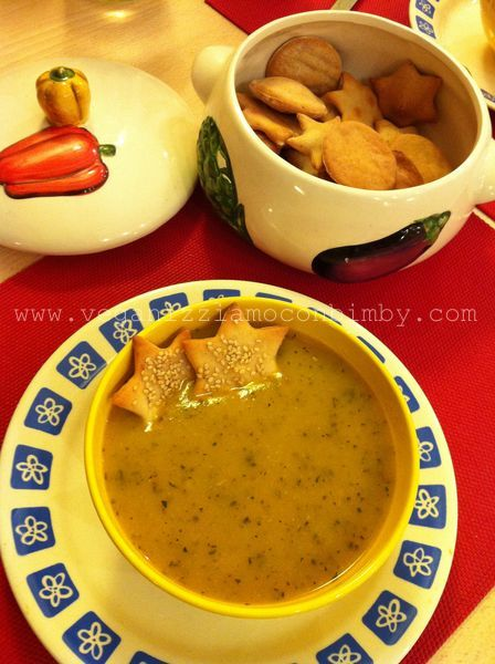 Zuppa di Zucca Vegan con Bimby