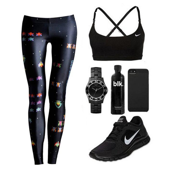 #deeptripstore #deeptrip #gym #workout #burn #leggins #black