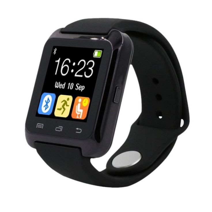 Iuhan Bluetooth Smart Wrist Watch Pedometer Healthy for iPhone LG Samsung PHONE (Black). Multifunction: Dial, short message, phone book, call history, BT notification, BT music, Long-distance capture, pedometer, drink, rest, sleep monitor, anti-theft, power save mode etc. Android System Perfect support. NOTE: IOS System does not support remote camera and viewing information. Bluetooth version: 4.0. Package Content: 1X Smart Watch (NO Retail Box. Packed Safely in Bubble Bag) 1X Usb…