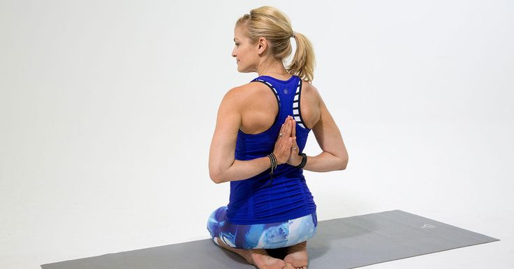 Offset the hunched-over effect of sitting at a desk all day by adding these shoulder opener poses to your yoga practice