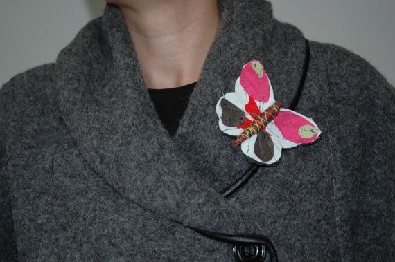 Butterfly Brooch Pin in Various Colours