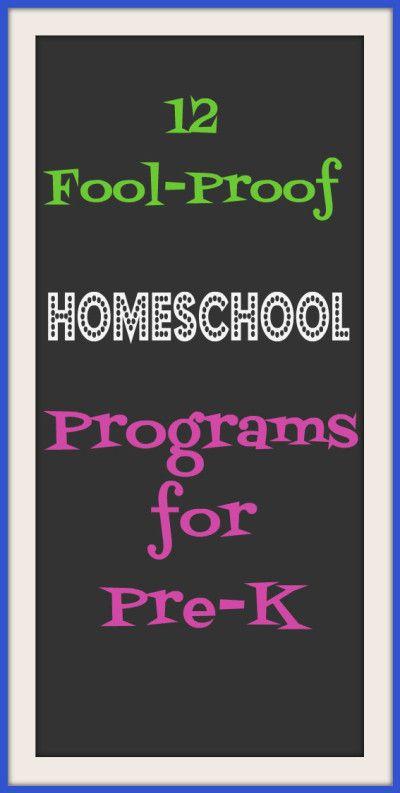 13 Fool-Proof Homeschool Pre-K Curriculums — The Hesitant Housewife