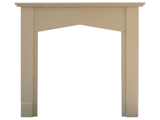 Adam Tudor Mantelpiece in Stone Effect, 48 Inch | Fireplace World