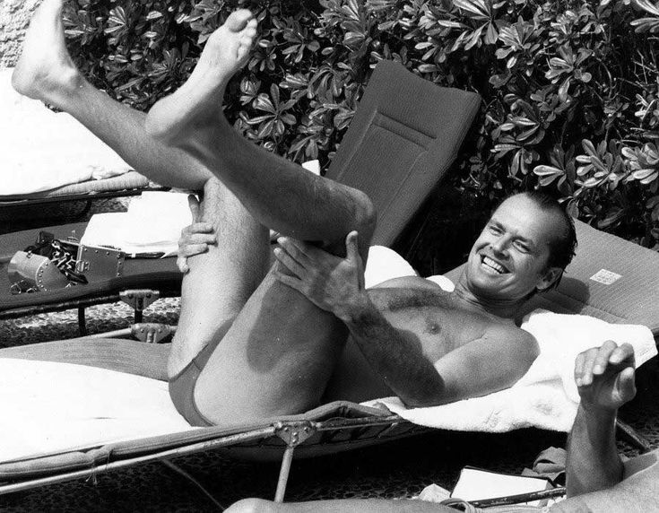 Jack Nicholson at the Cannes Film Festival 1981 | Rare and beautiful celebrity photos