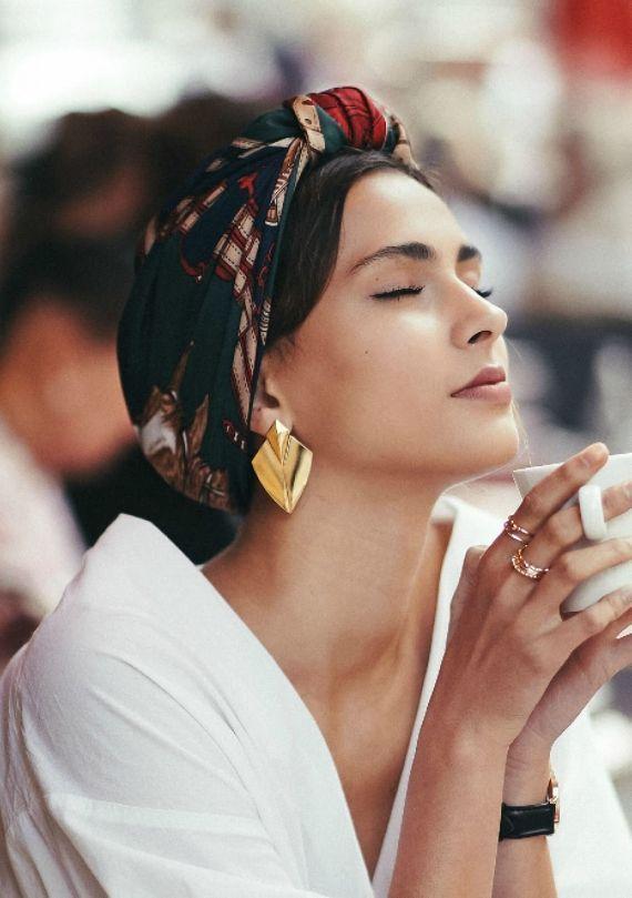 Retro scarf – The Parisian – SAMANTHA