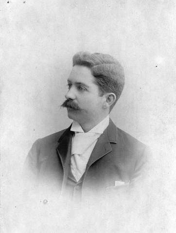 Robert Mathison, circa 1890s. Vancouver City Archives.