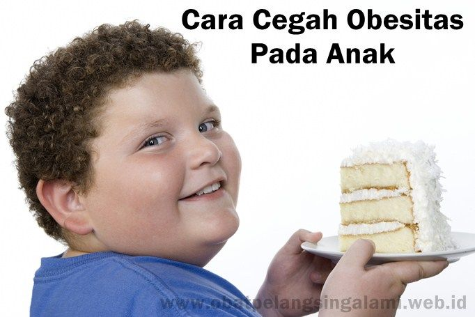 Ini yang Harus Dilakukan Orangtua untuk Cegah Anak Obesitas  Sampai saat ini permasalahan gizi di Indonesia begitu komplit. Mulai dari kekurangan berat badan hingga sebaliknya yaitu kelebihan berat badan atau yang lebih dikenal dengan obesitas. Obesitas menyebabkan beban ganda karena memicu Penyakit Tidak Menular (PTM). Ironisnya, sebanyak 80% faktor PTM ini disebabkan oleh gaya hidup yang tidak baik.  http://www.obatpelangsingalami.web.id/ini-yang-harus-dilakukan-orangtua-untuk-cegah-anak-o