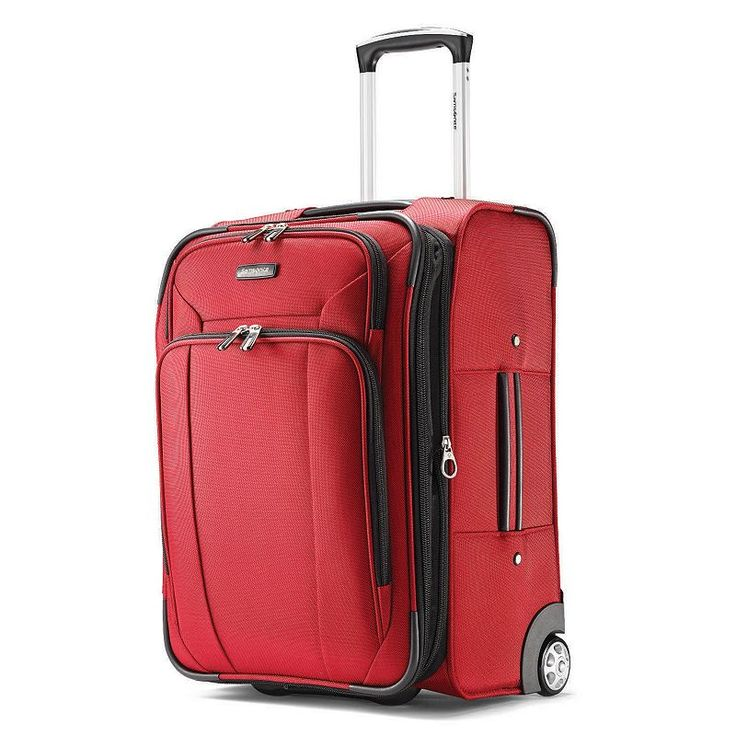 Samsonite Hyperspin 2 21-Inch Wheeled Carry-On Luggage, Red