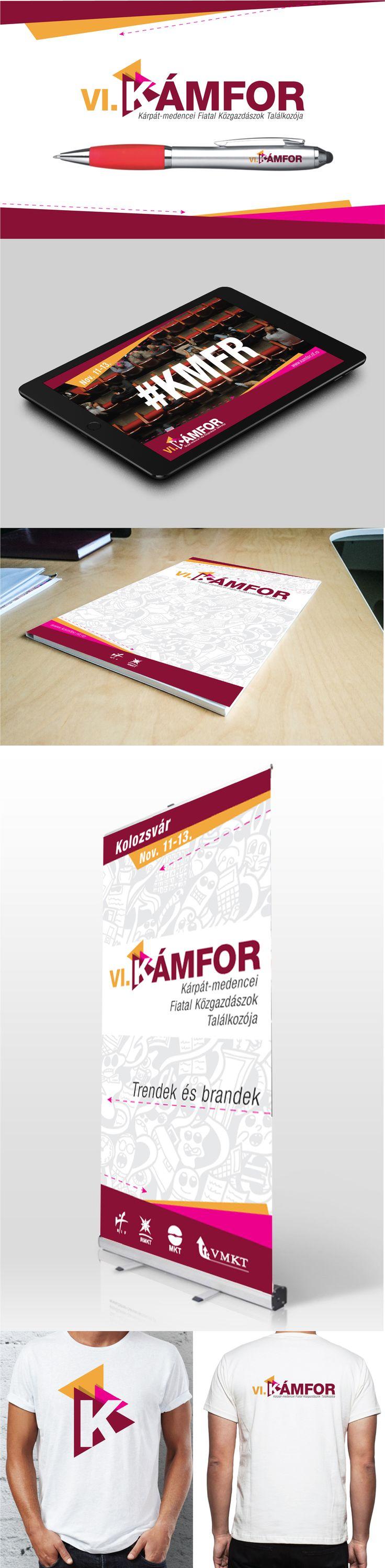 Rebranding logo #brand #identity #logo #design #kamfor #yellow