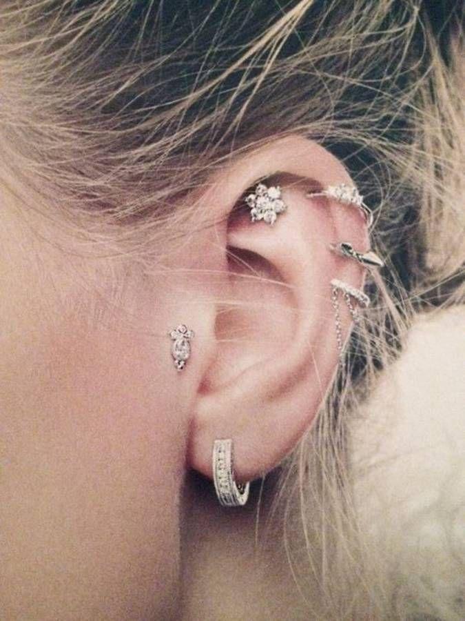 Piercing oreille anneau