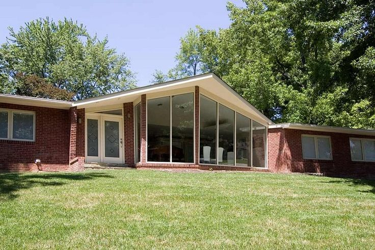 140 Best Images About Mid Century Modern Ranch Exterior