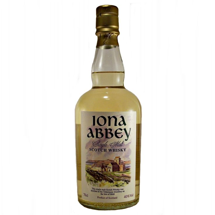 Iona Abbey Single Malt Whisky Tobermory Distillery available to buy online at specialist whisky shop whiskys.co.uk Stamford Bridge York