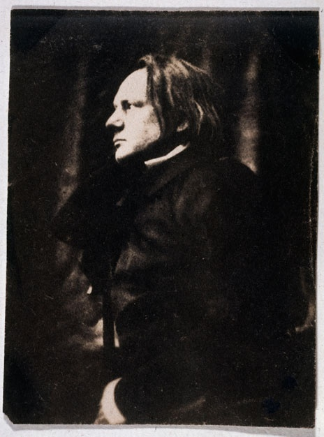 Victor Hugo, 1854 -by Auguste Vacquerie