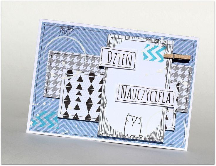 Kartka na Dzień Nauczyciela / Card for teacher