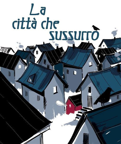 """Jennifer Elvgren, Fabio Santomauro """"La città che sussurrò"""" (Giuntina)"""