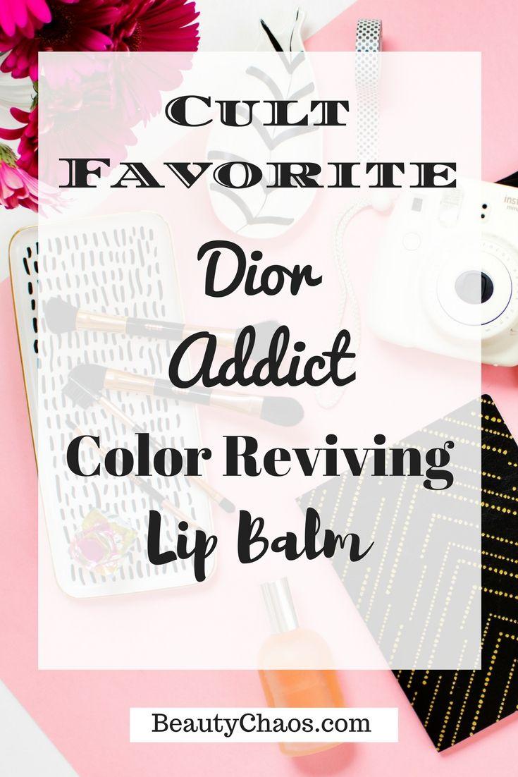 Dior Addict Lip Glow |  BeautyChaos.com #colorrevivinglipbalm #cosmeticcultfavorite #diorcosmetics