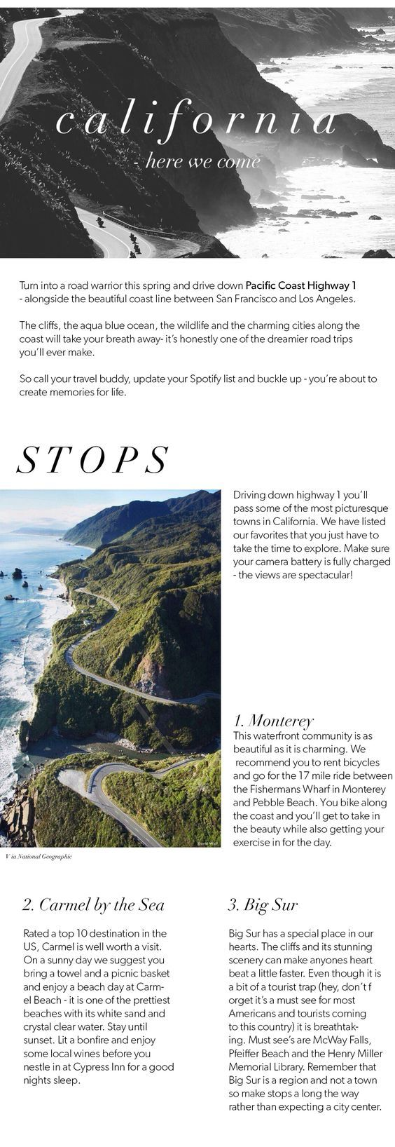 The Journal » ROAPTRIP ALONG PCH. Has restaurant recommendations
