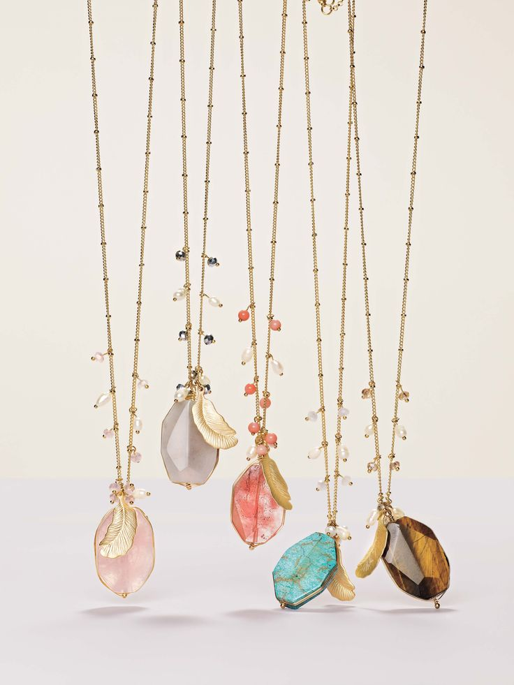 Great necklaces from Nordstrom