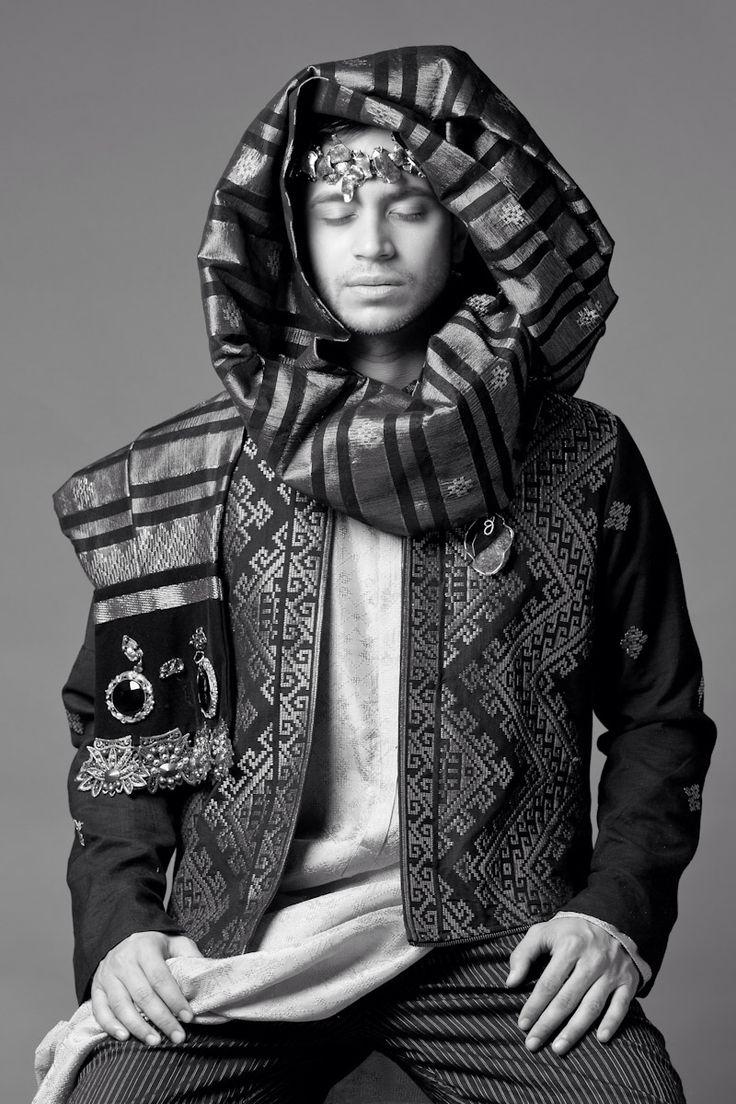 Eugene Cimolin for Indonesia Fasion Week 2014's Photo Exibition by Roni Bachroni Fouzi, Wardrobe: Deden Siswanto, Fashion Stylist: Wingky