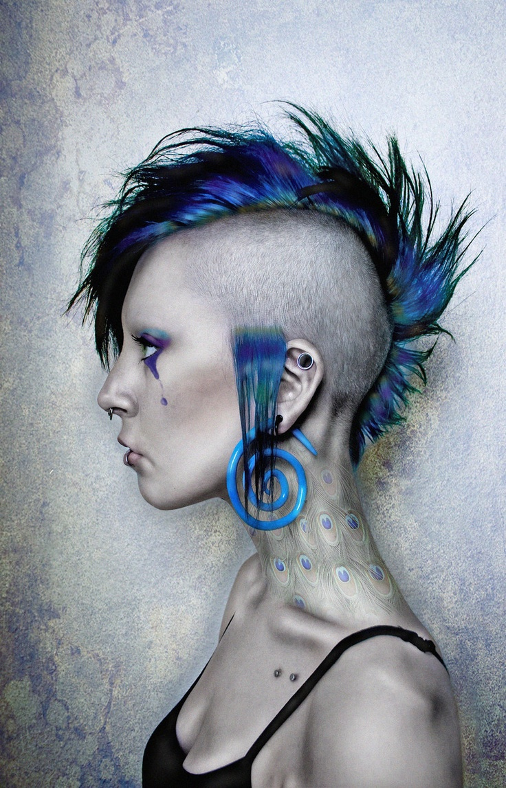 best Mohawk images on Pinterest s goth Gothic and Mohawk