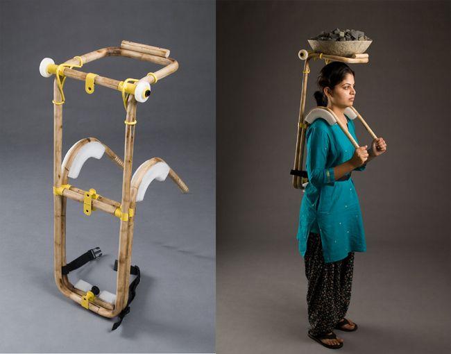 Brilliant piece of design.: Vikram Dinubhai, Design Awards, Innovation Products, Core77 Design, Loaded Carrier, Adjustable Loaded, 3Way Adjustable, Products Design, Dinubhai Panchal