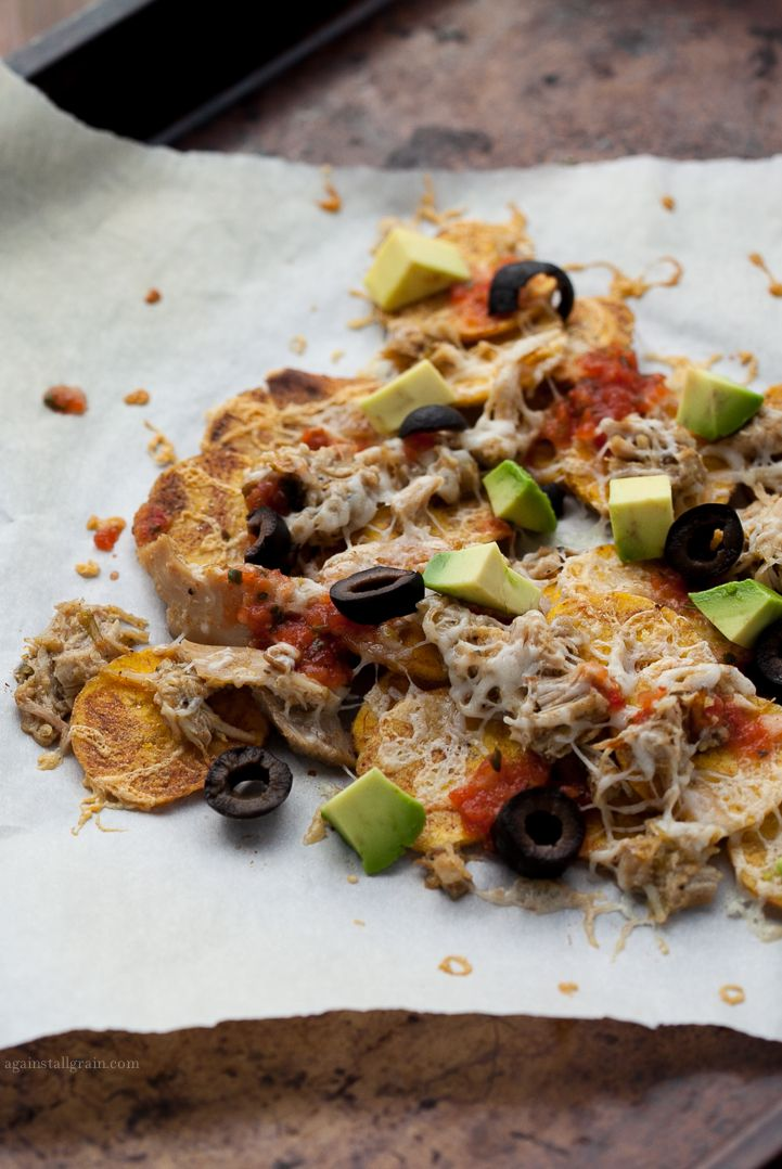 Plantain Chip Nachos - Against All Grain