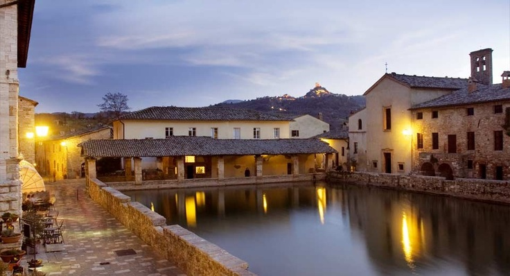 17 best images about bagno vignoni on pinterest thermal - Albergo le terme bagno vignoni ...