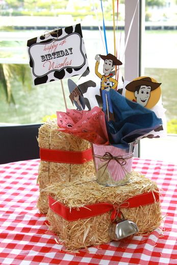 """Photo 30 of 38: Toy Story/Cowboy / Birthday """"Woody's Round Up Party"""" 