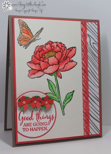 Stampin' Up! Watercolored You've Got This