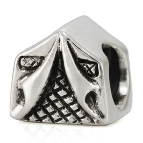 Pandora Jewelry Ohm Sterling Silver Camping Tent Bead Charm Beads Httpwww