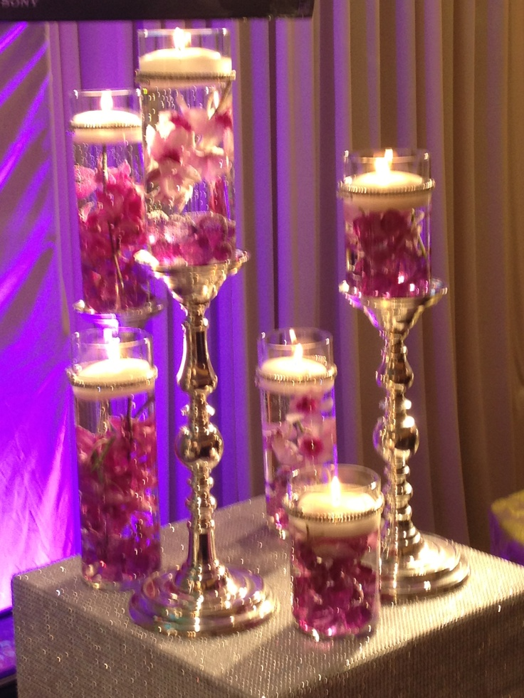 Centerpiece ideas from the Chicago bridal show