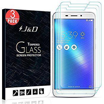 Amazon.com: suptmax ZenFone 3Laser Protector de visualización 9H 0,26mm de Zenfone 3Laser Protector de visualización de vidrio templado [Case Friendly] [cero última intervensión] Ultra-Clear, Paquete con 2: Cell Phones & Accessories
