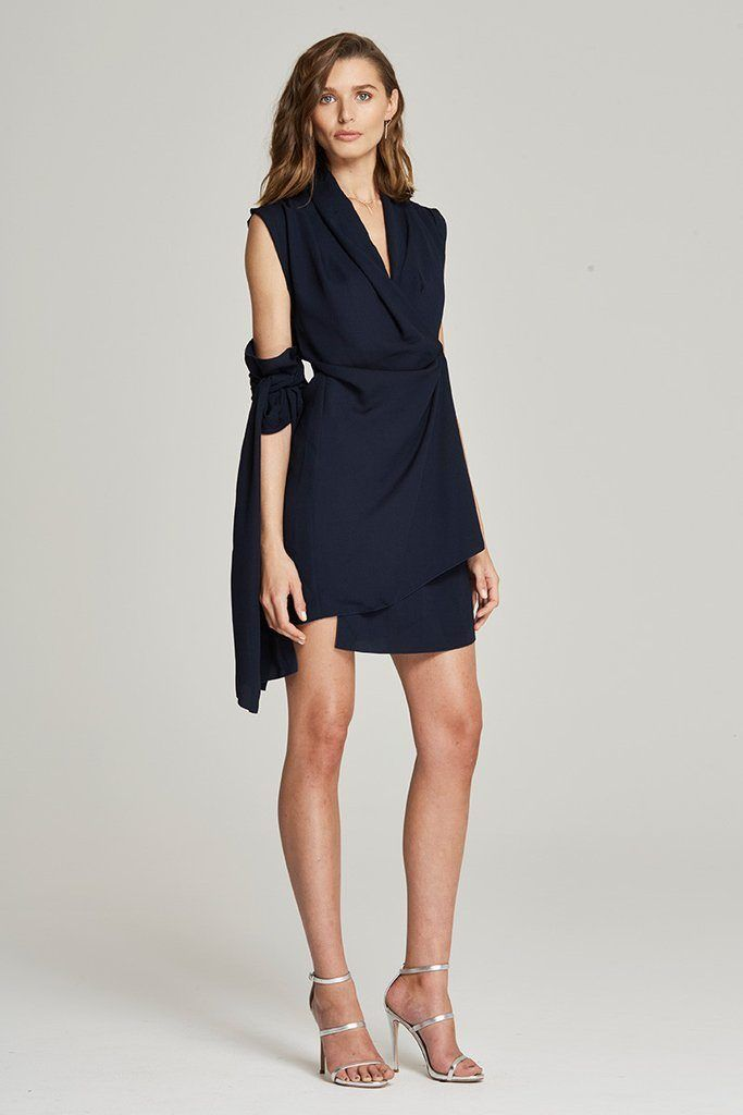 Maurie & Eve - Starting Over Dress Navy