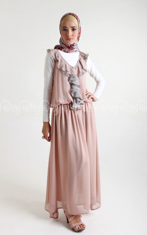 Ruffle Chiffon Dress by Monel? Of course it will do :) www.hijup.com