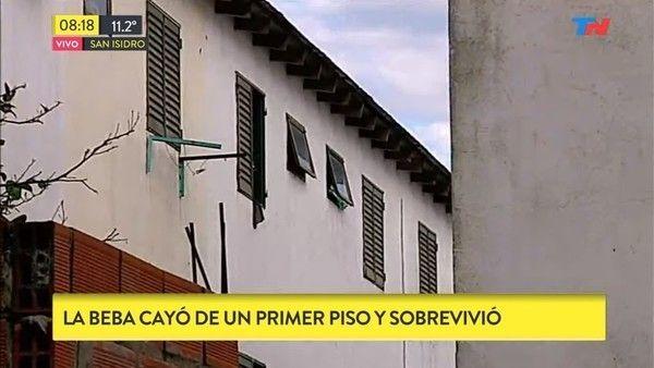 San Isidro: dio a luz en el baño de su departamento y tiró a la beba por la ventana