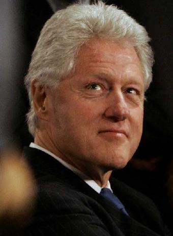 Bill Clinton - Hugely motivational and inspiring speaker, I like him.