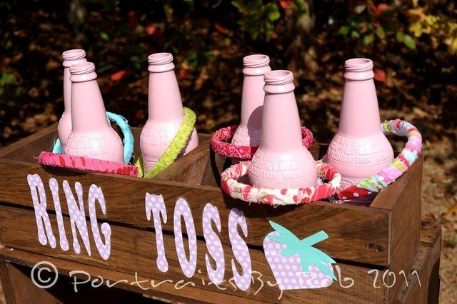 cowgirl birthday party games   Party game - ring toss