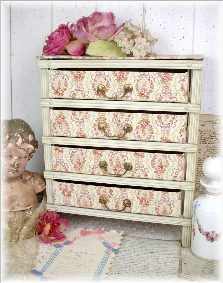 This style of cabinet drawer was most often found in the ladies' room in 1900.  They used it as a small storage unit for storing, fine lace, embroidered handkerchiefs, jewelry, stockings, and also the courier of the heart.