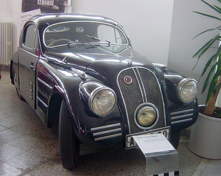 Car Style Critic: Streamlined Škodas of the 1930s