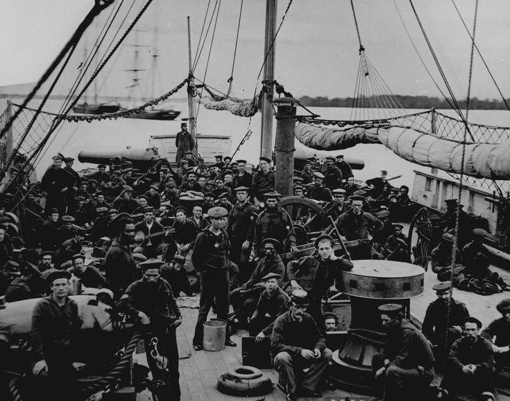 US Navy ship's crew, Civil War