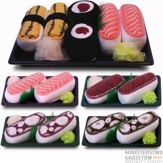 Skarpetki Sushi. Miejsce sushi to już nie tylko kuchnia! ;)