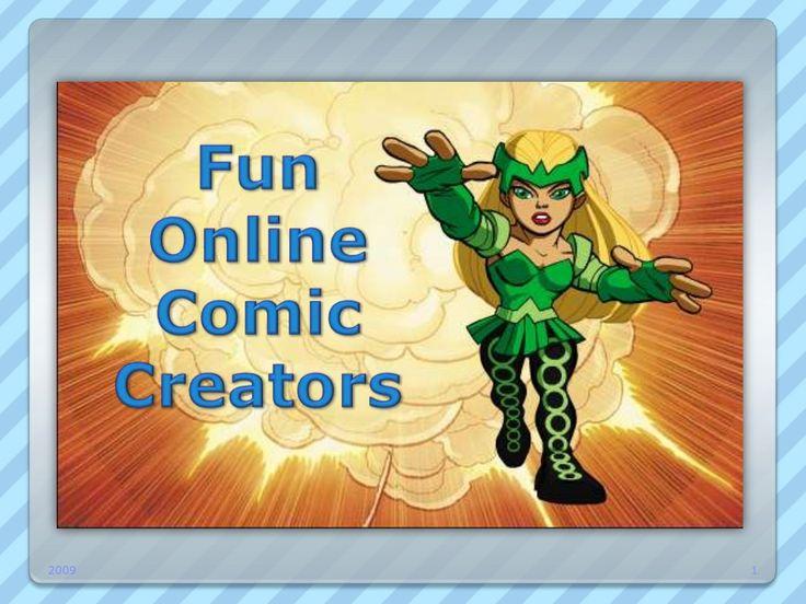 online-comic-creators by S. Hendy via Slideshare